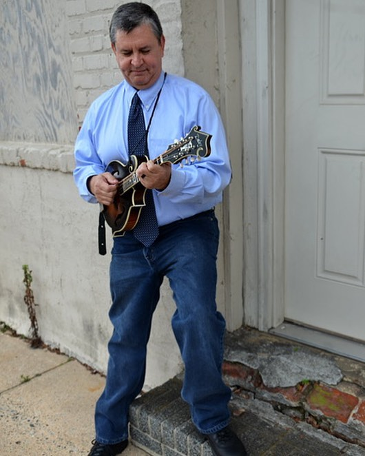Meet Jim Grubbs, our AWESOME mandolin and guitar teacher! He has only THREE lesson spots left! Message us for more info! #upbeatmusiccompany #lewisvillenc #lewisvilleclemmons #triadnc #forsythcountync #musiclessons #localbusiness #smallbusiness #supportlocal #mandolin #guitar #mandolinlessons #guitarlessons