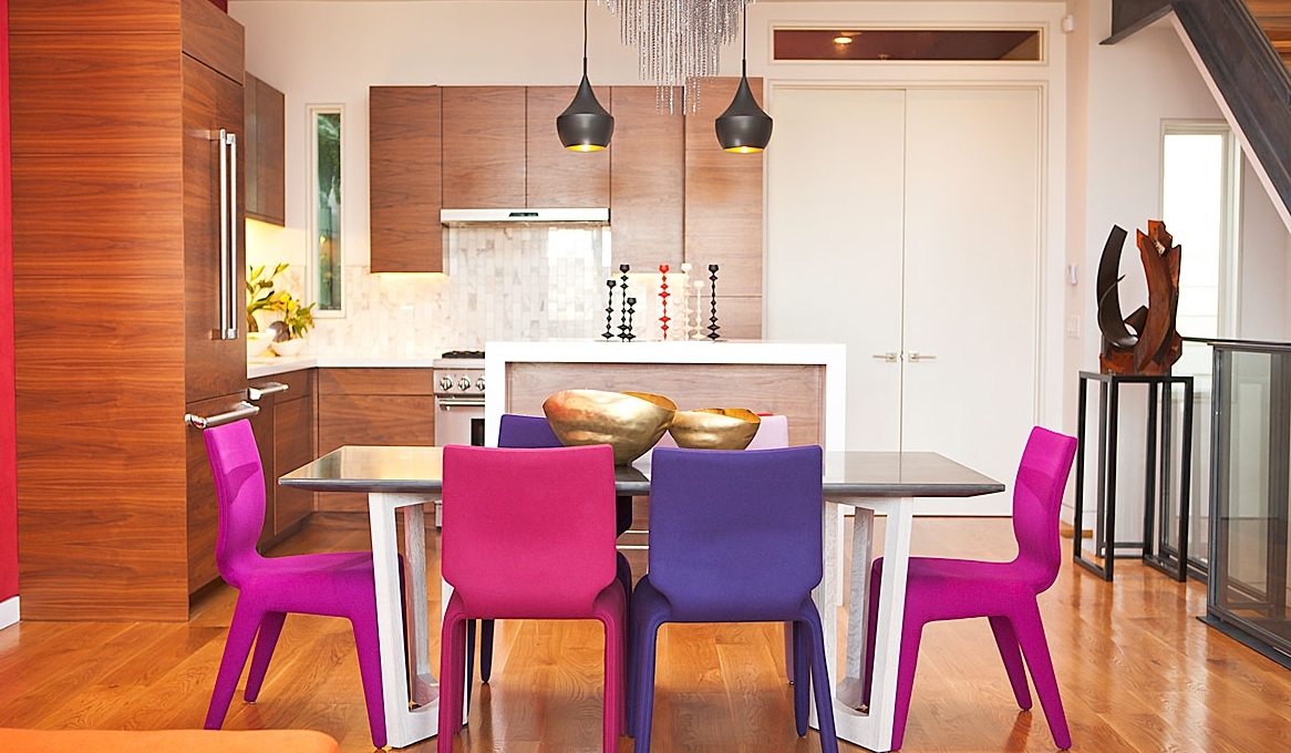 Vineet's Vibrant Remodel and Dining Zone — LOCZIdesign