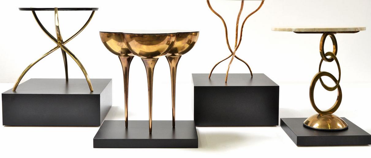 Scala Luxury Brass Furniture — LOCZIdesign