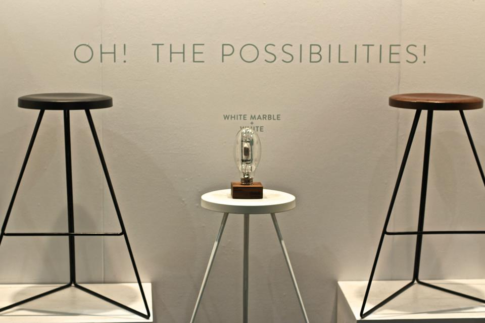 Greta de Parry stools - Dwell on Design award winner — at Dwell on Design