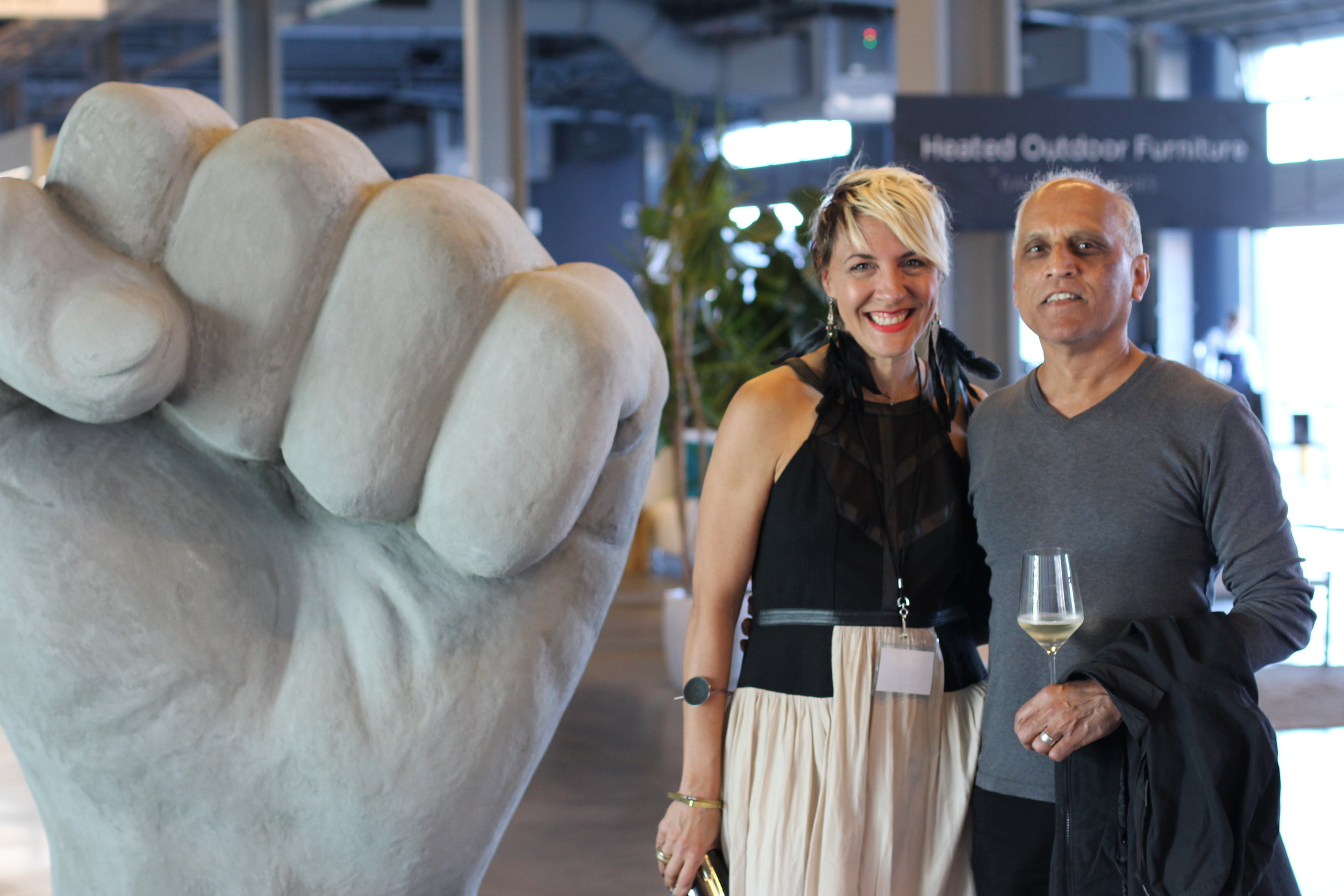 Paige Loczi and Zahid Sardar, SF Chronicle design editor & author