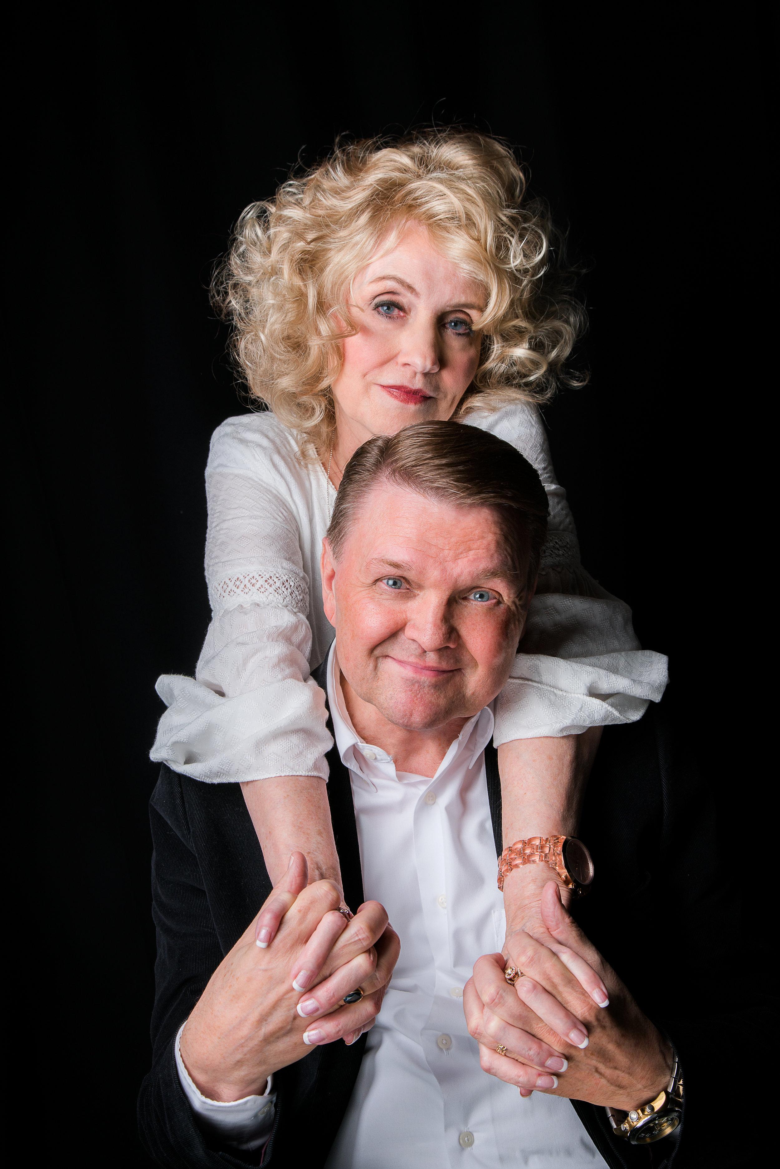 Dixie Andelin Forsyth, with her husband Robert D. Forsyth