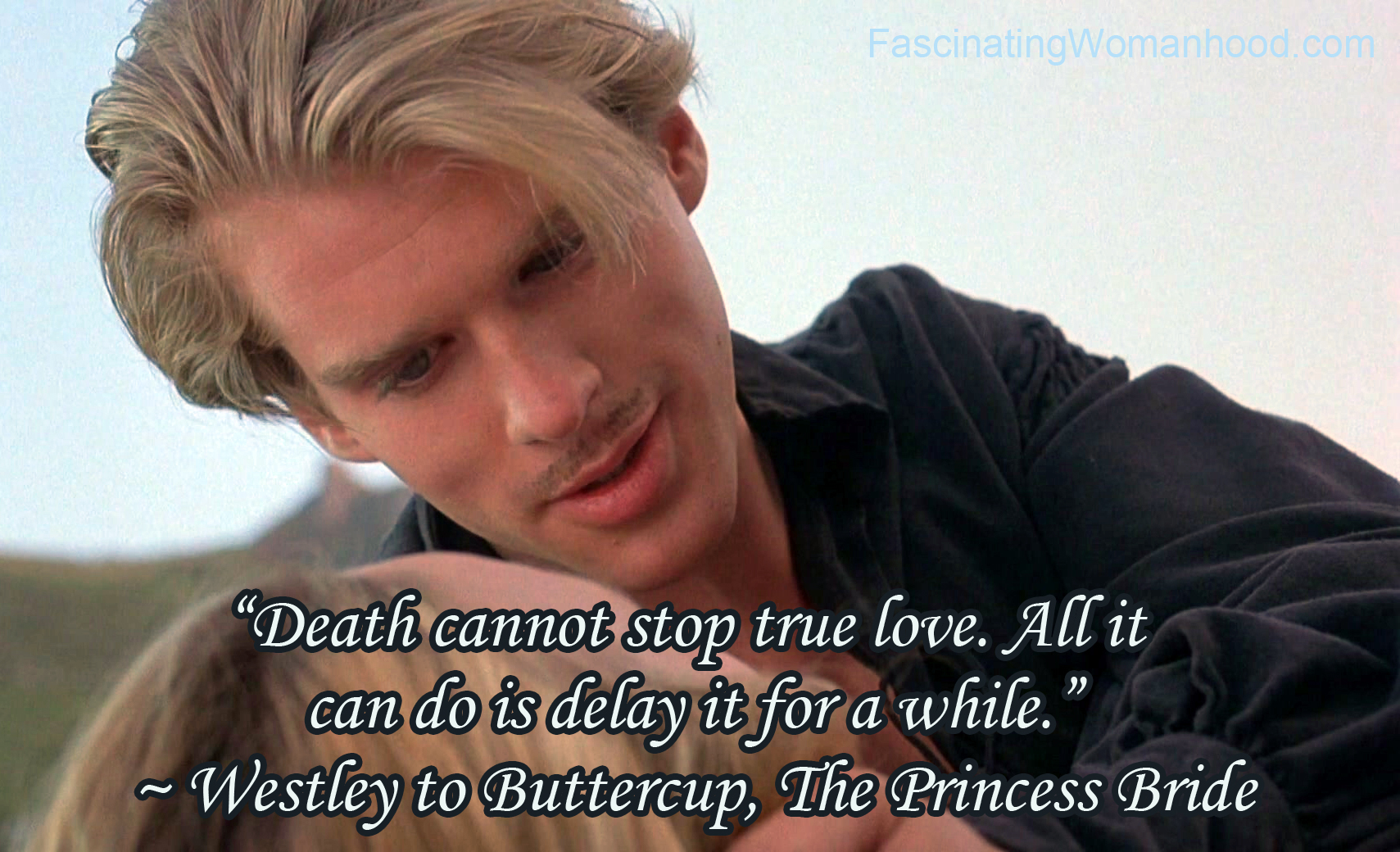 A Quote from The Princess Bride by William Goldman ...