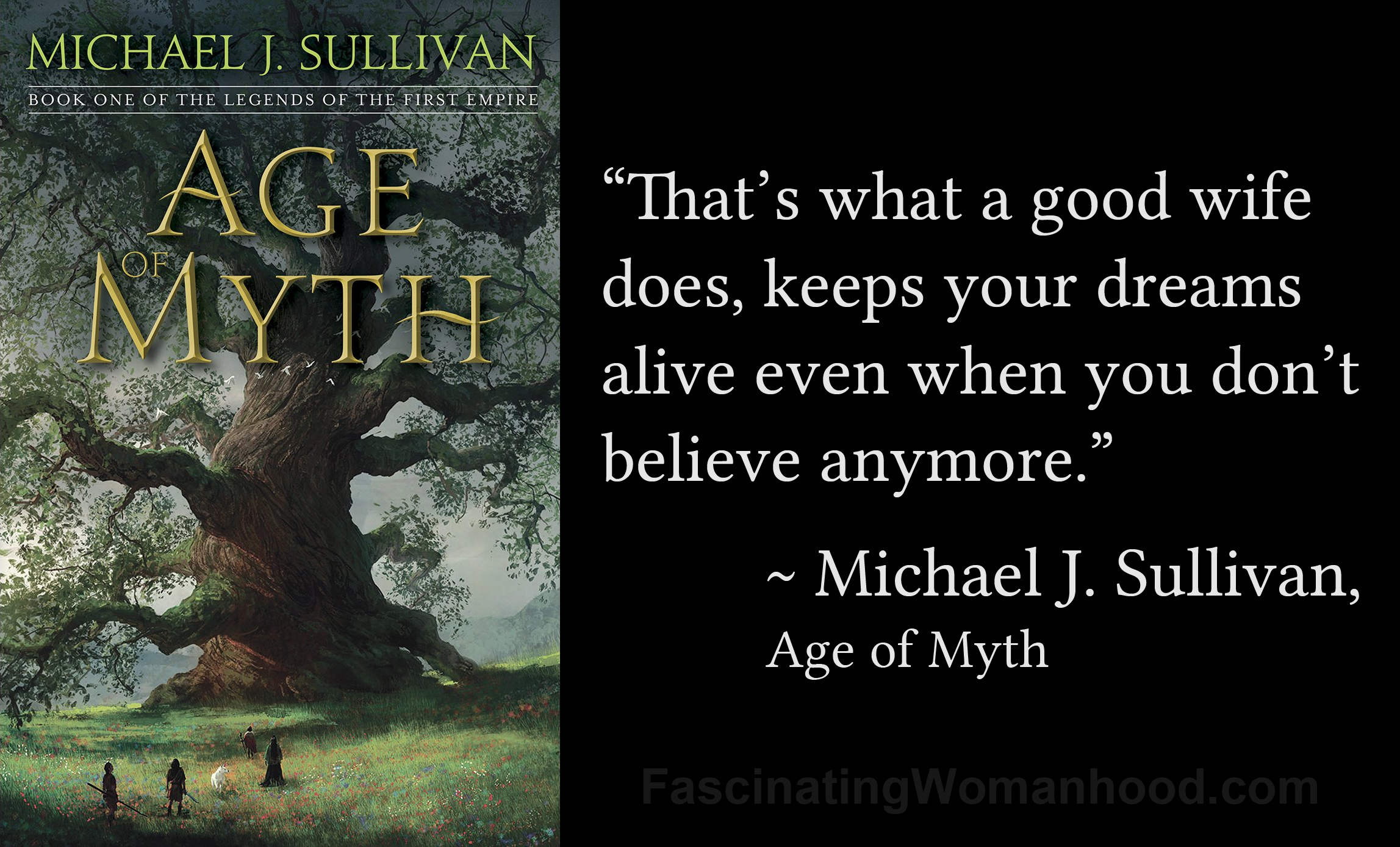 A Quote by Michael J Sullivan.jpg