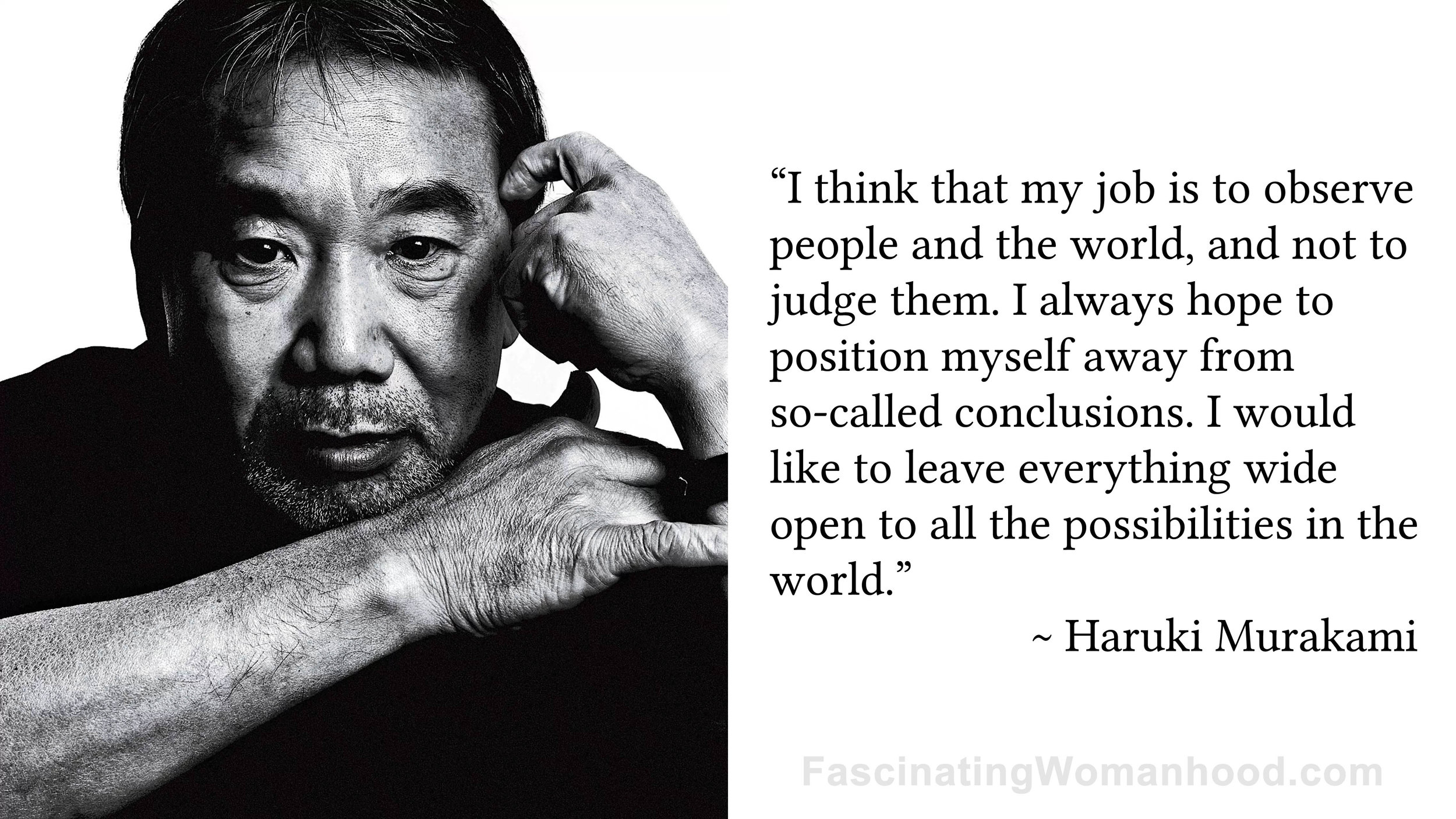 A Quote by Haruki Murakami.jpg