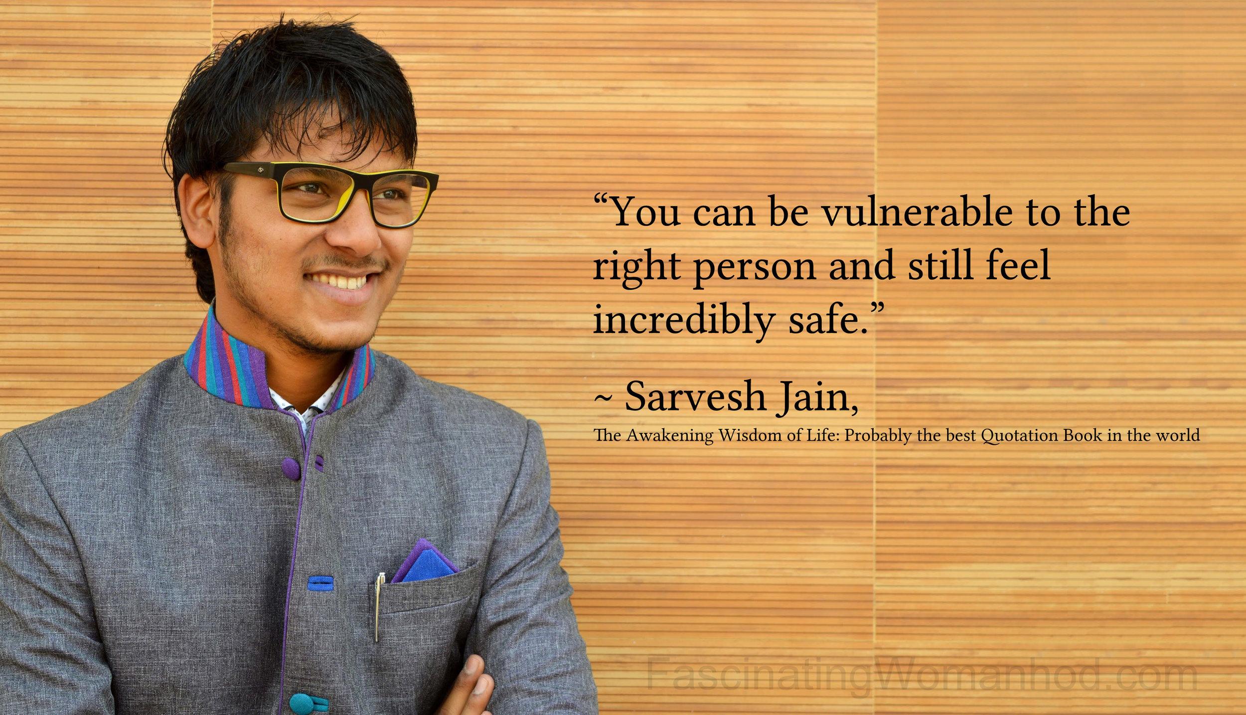 A Quote by Sarvesh Jain.jpg