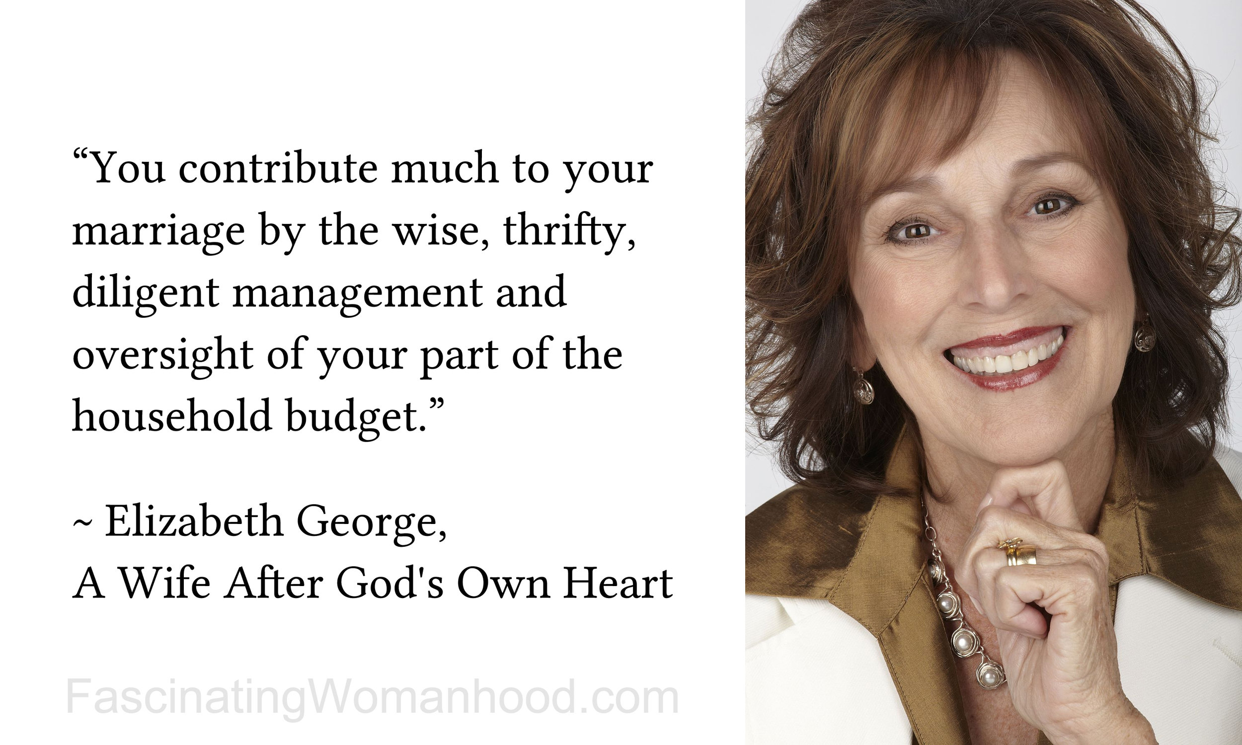 A Quote by Elizabeth George 3.jpg