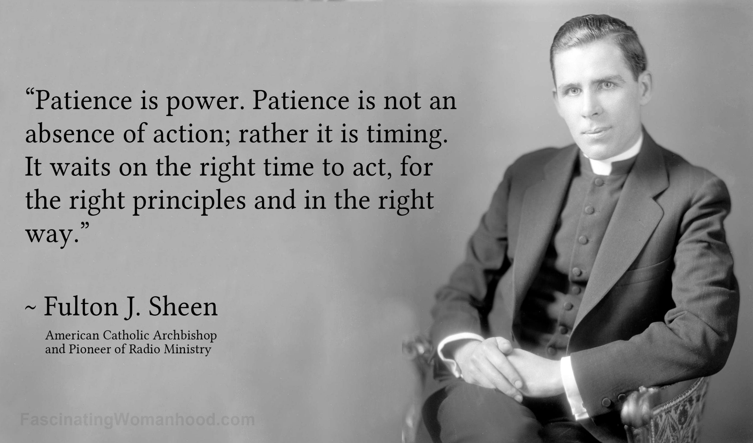 A Quote by Fulton J Sheen.jpg