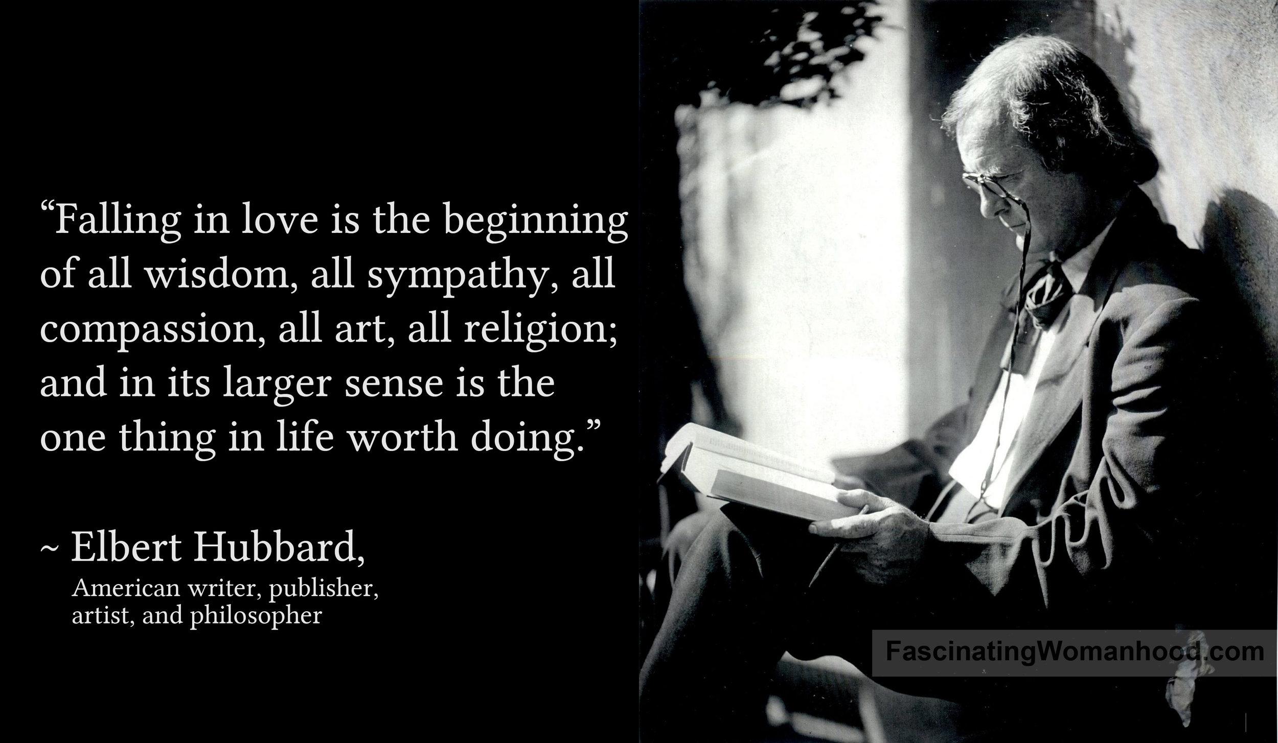 A Quote by Elbert Hubbard 2.jpg