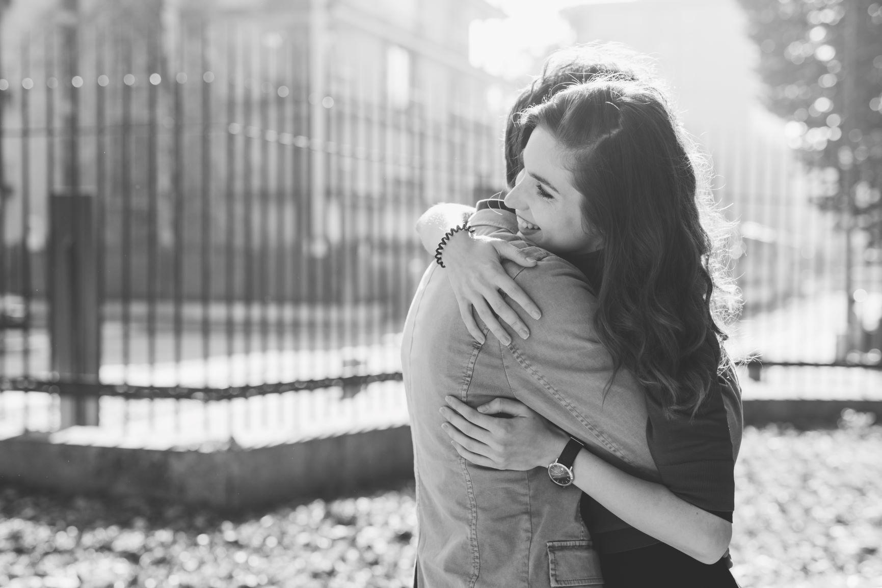 Couple Hugging Black and White Smaller.jpg
