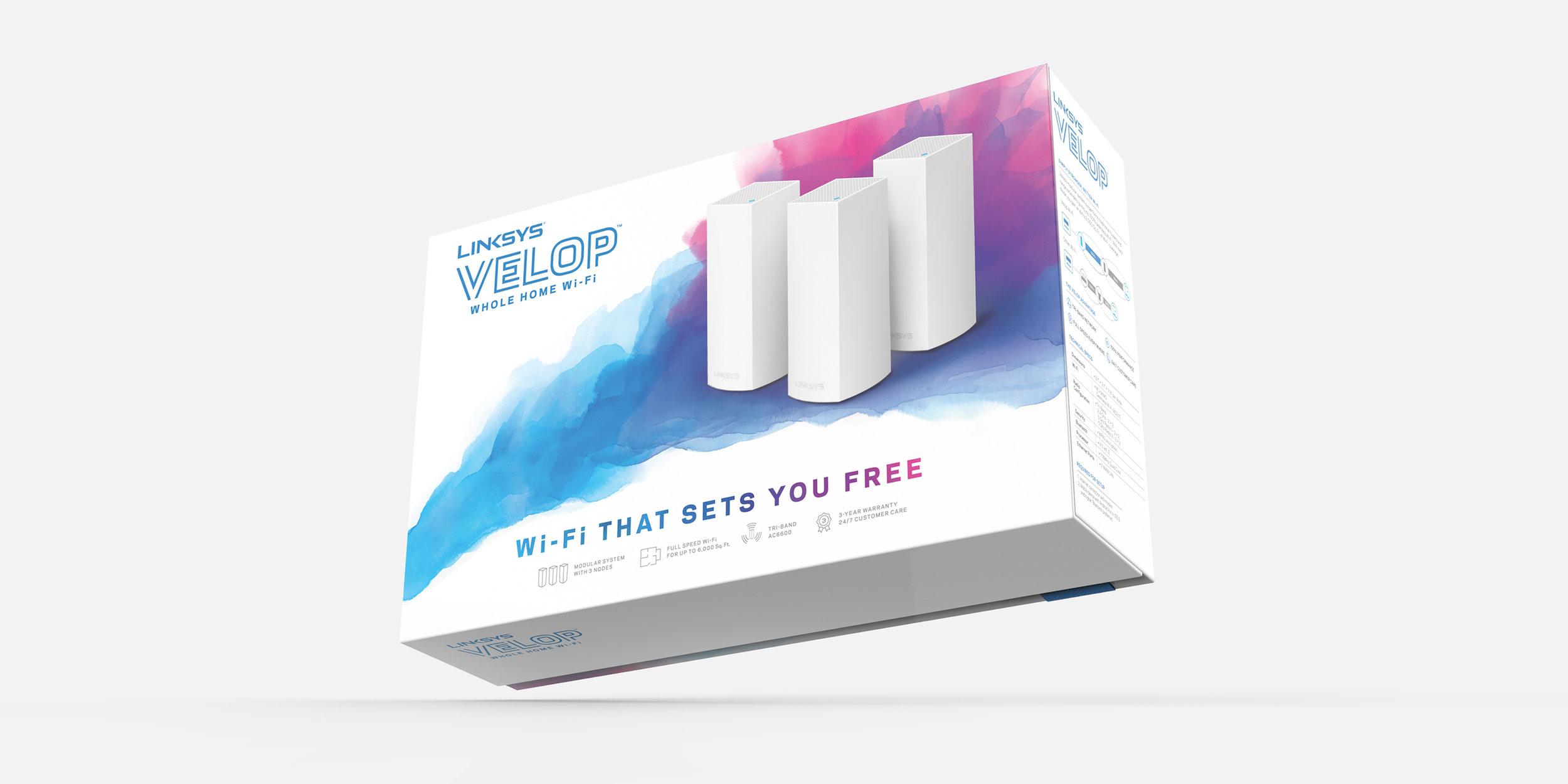 Linksys Velop Branding   Packaging Design