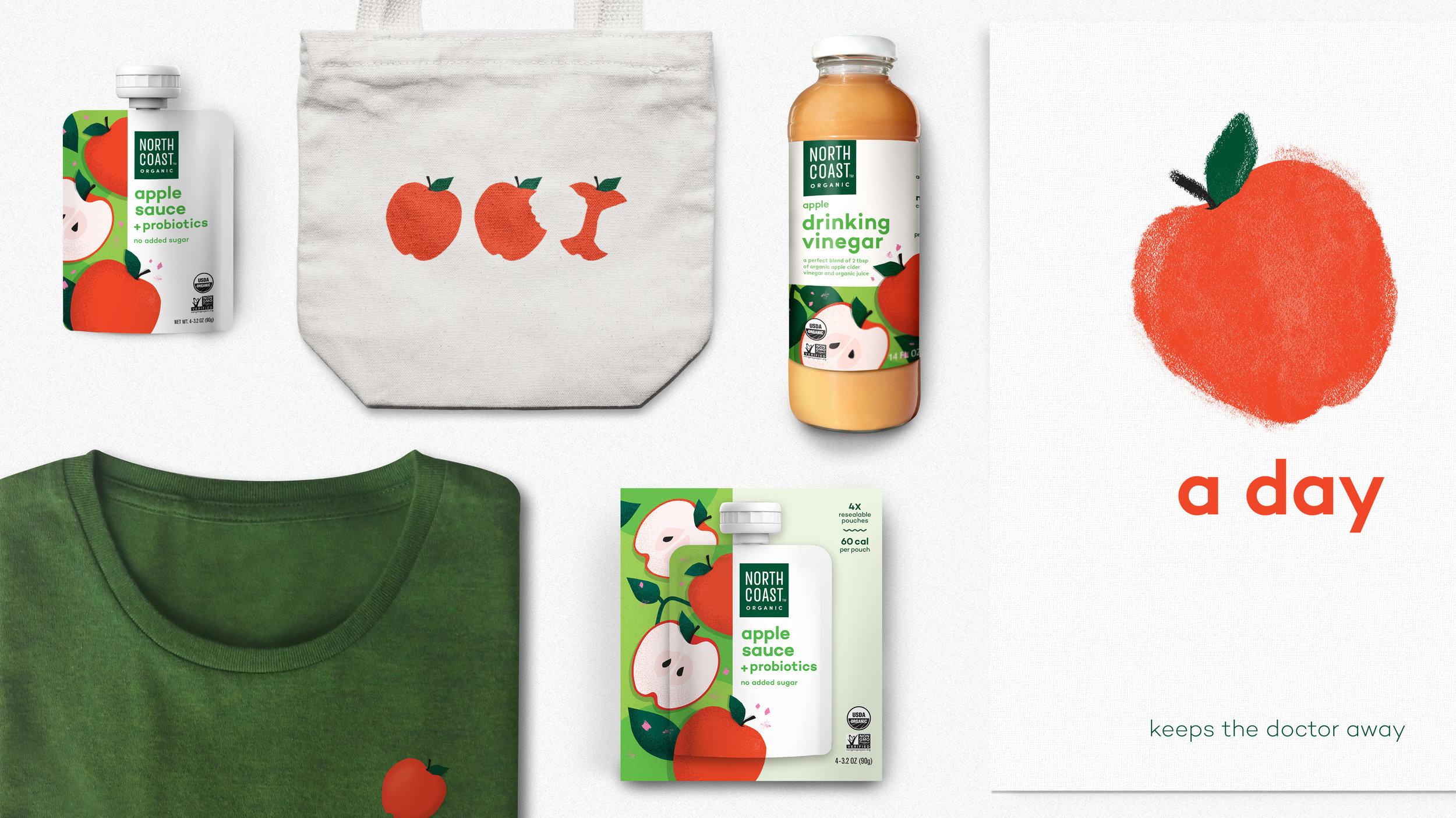 Northcoast organic brand applications