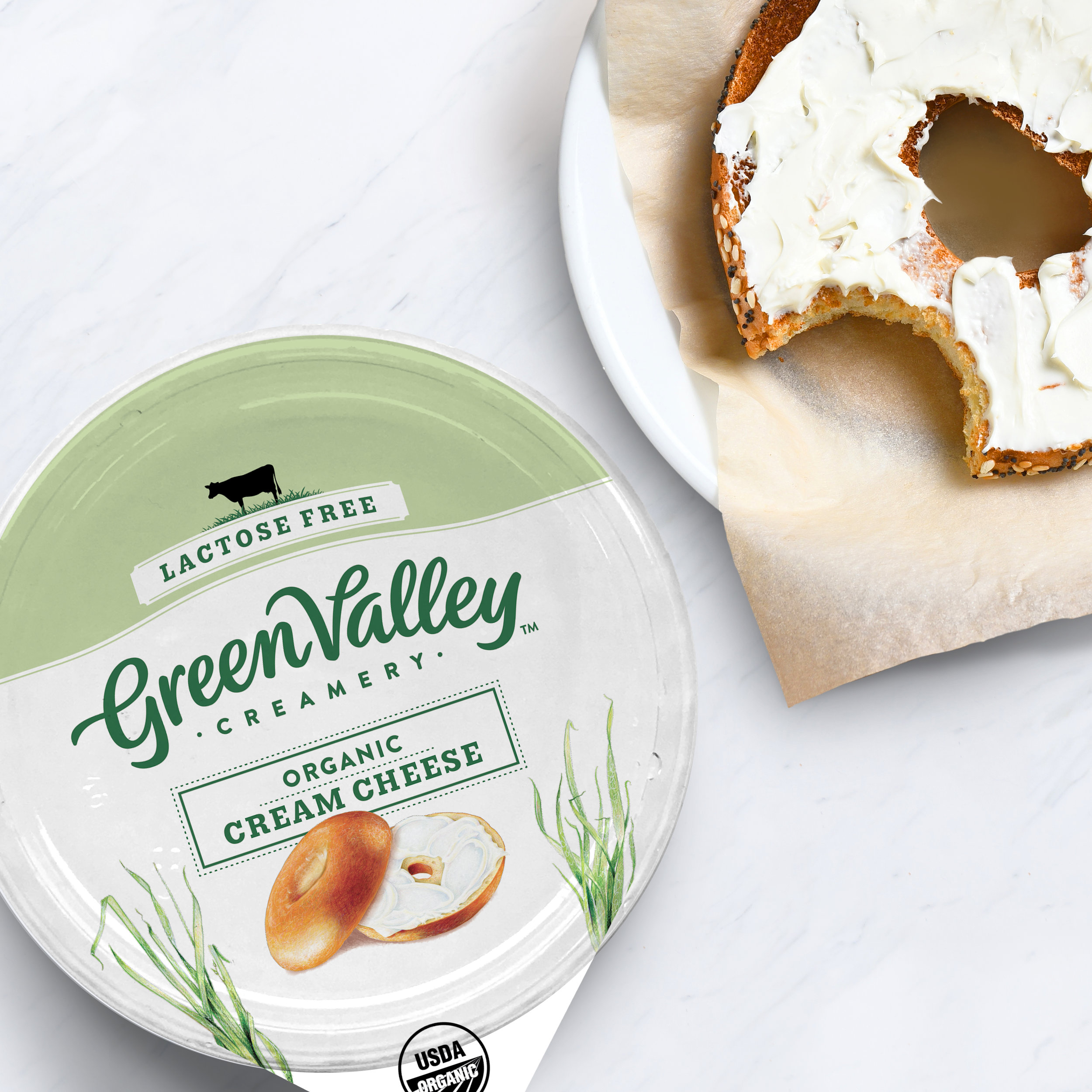 Green Valley Creamery Branding | Packaging Design