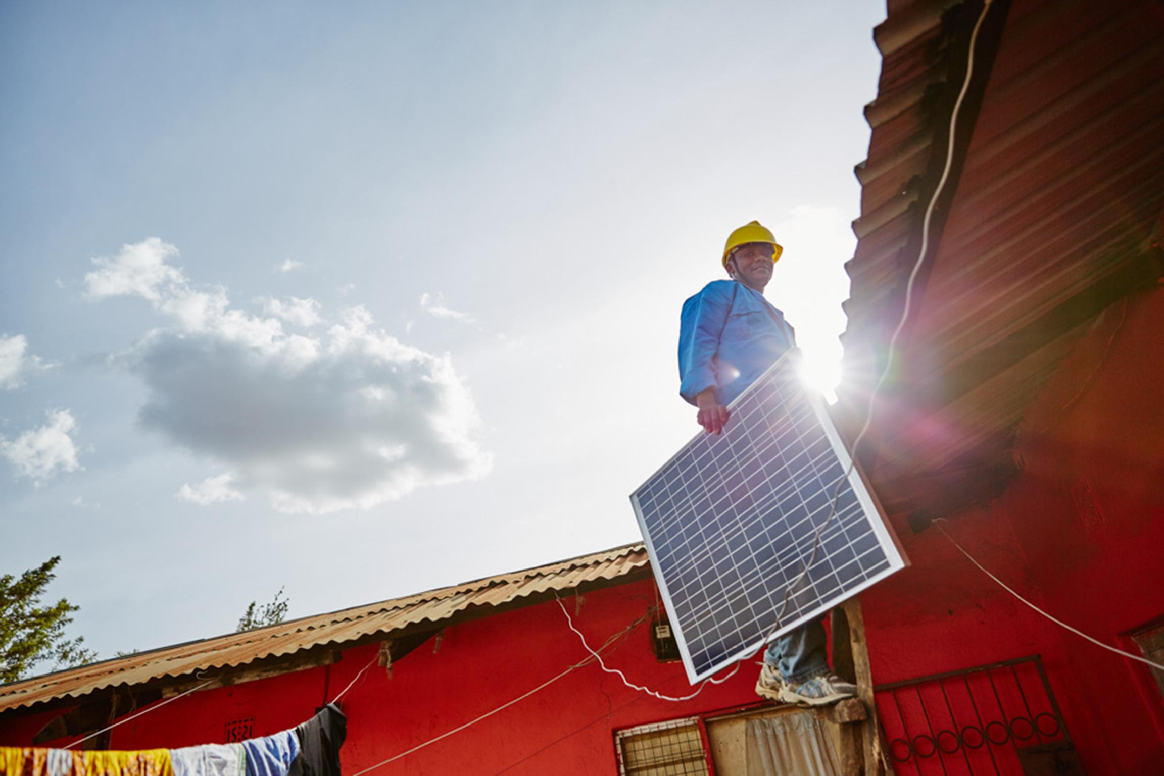 Zola electric solar panel installer