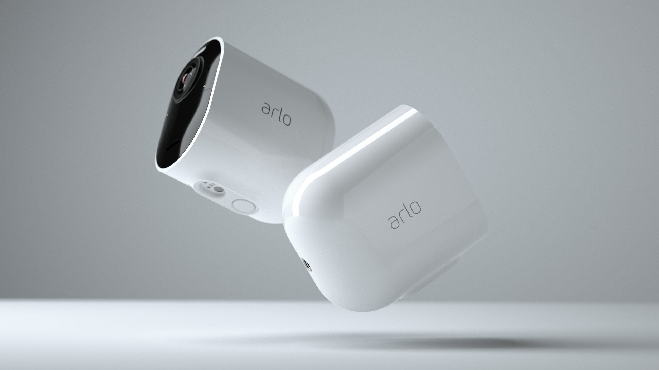 Arlo Ultra Side View Floating