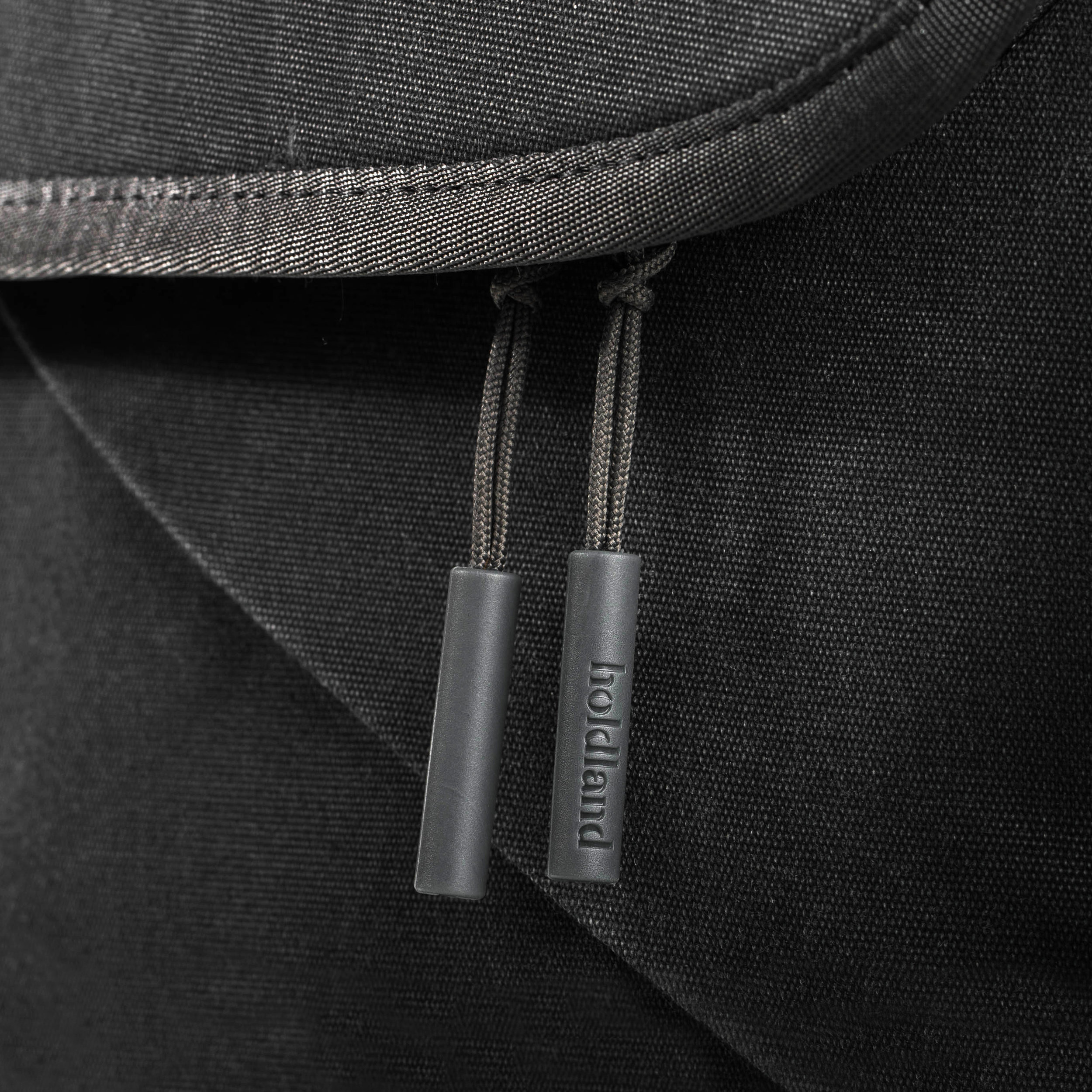 Holdland backpack zipper detail