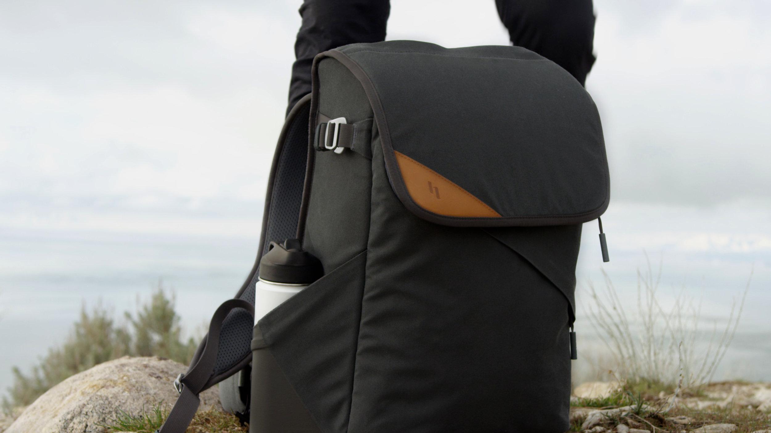 Holdland backpack closed