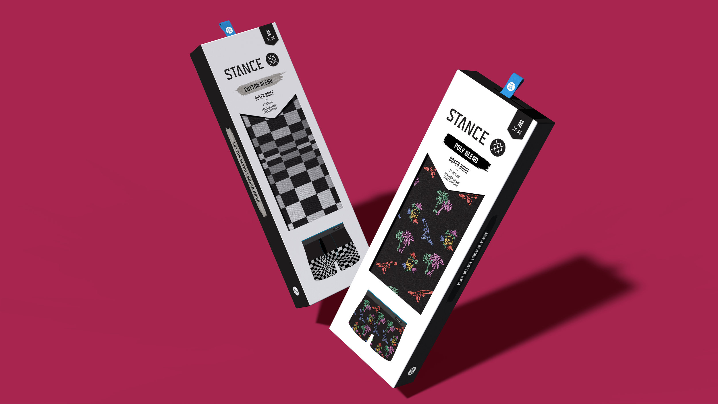 Stance Boxer Packaging