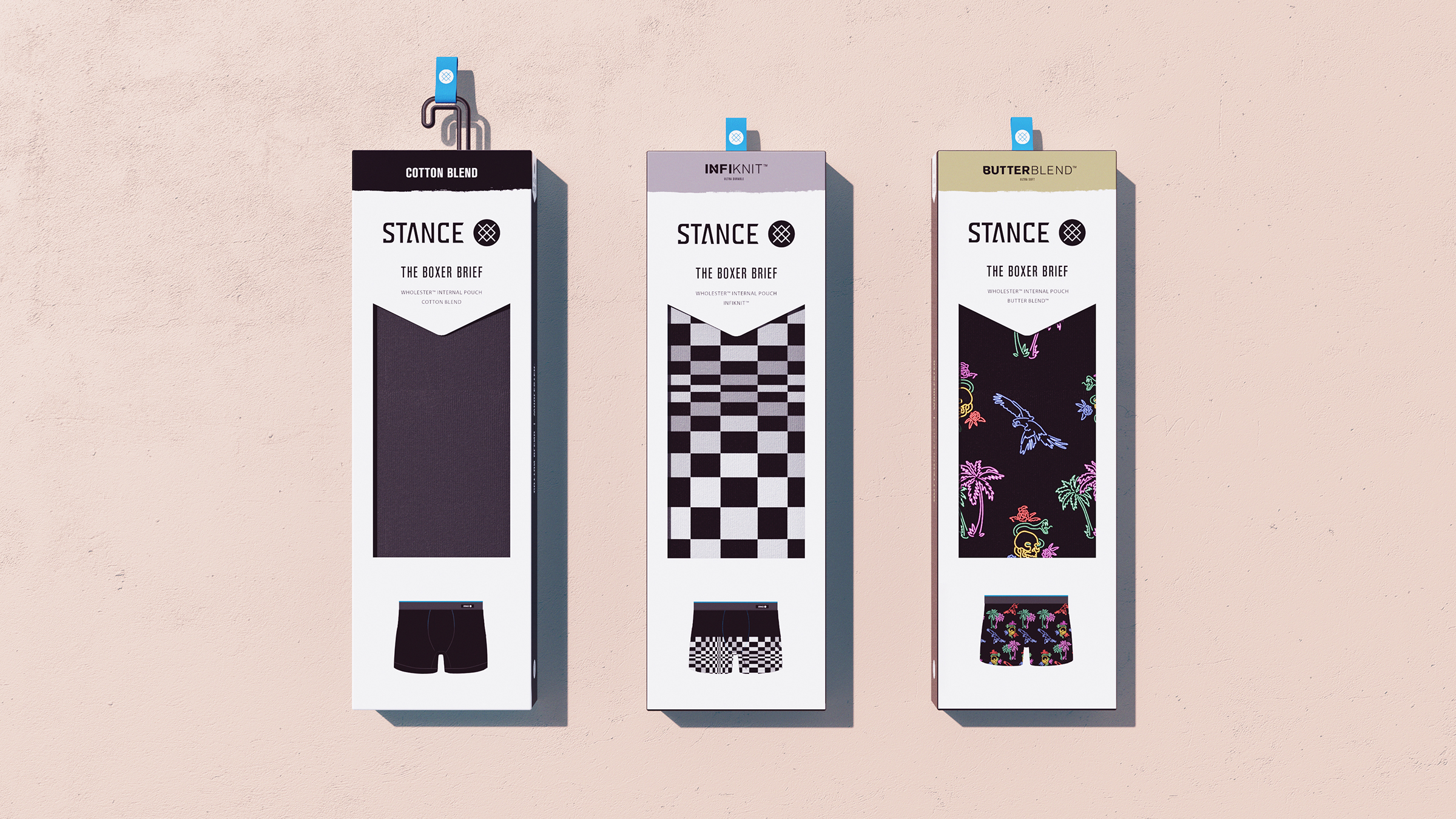 Stance Boxer Packaging Lineup