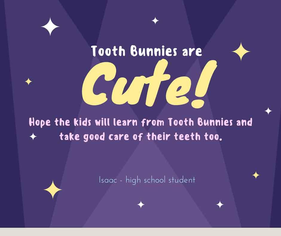 Tooth Bunny feedback from Isaac