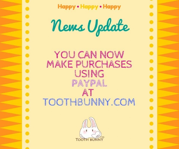 Tooth Bunny now has Paypal