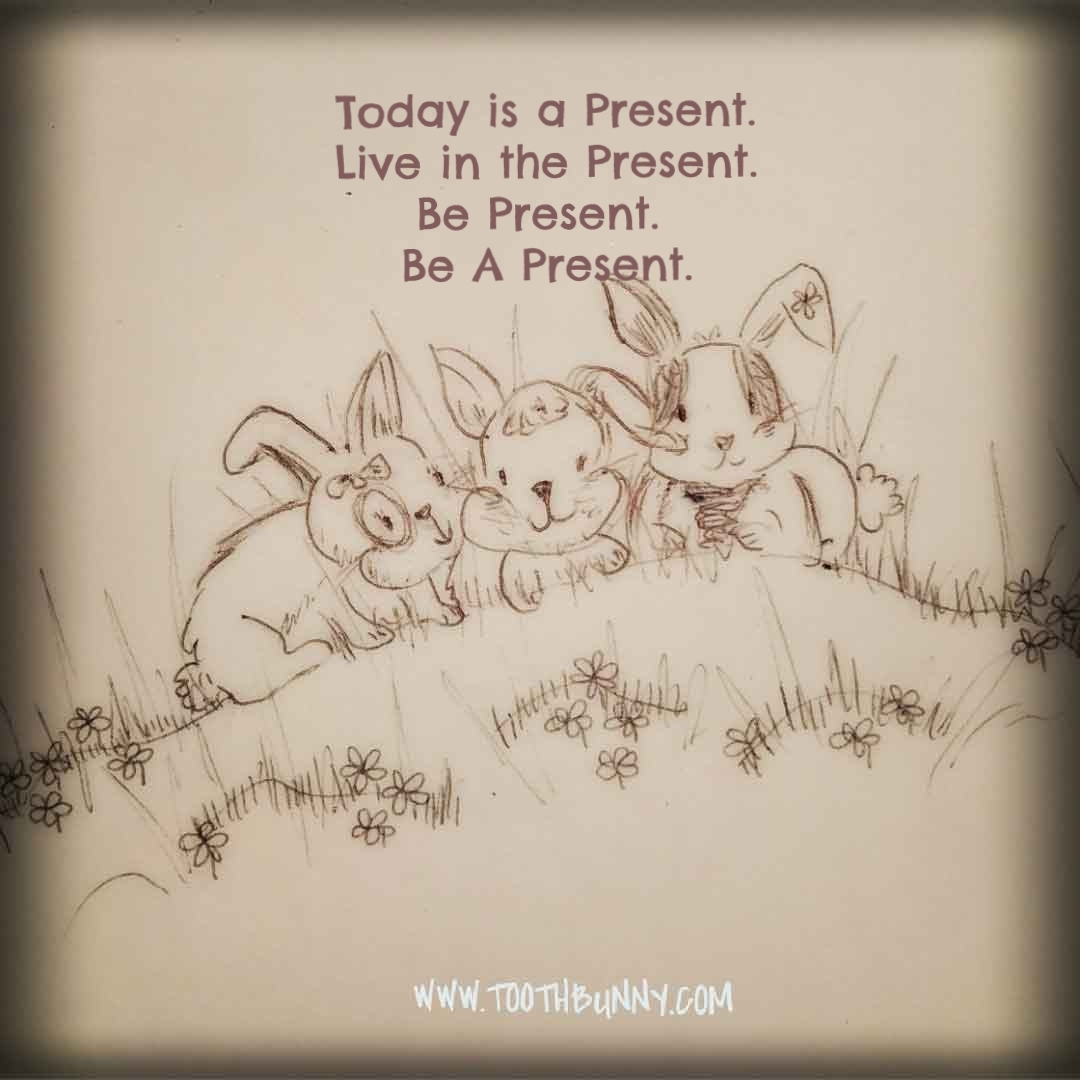 Be Present and Be A Present