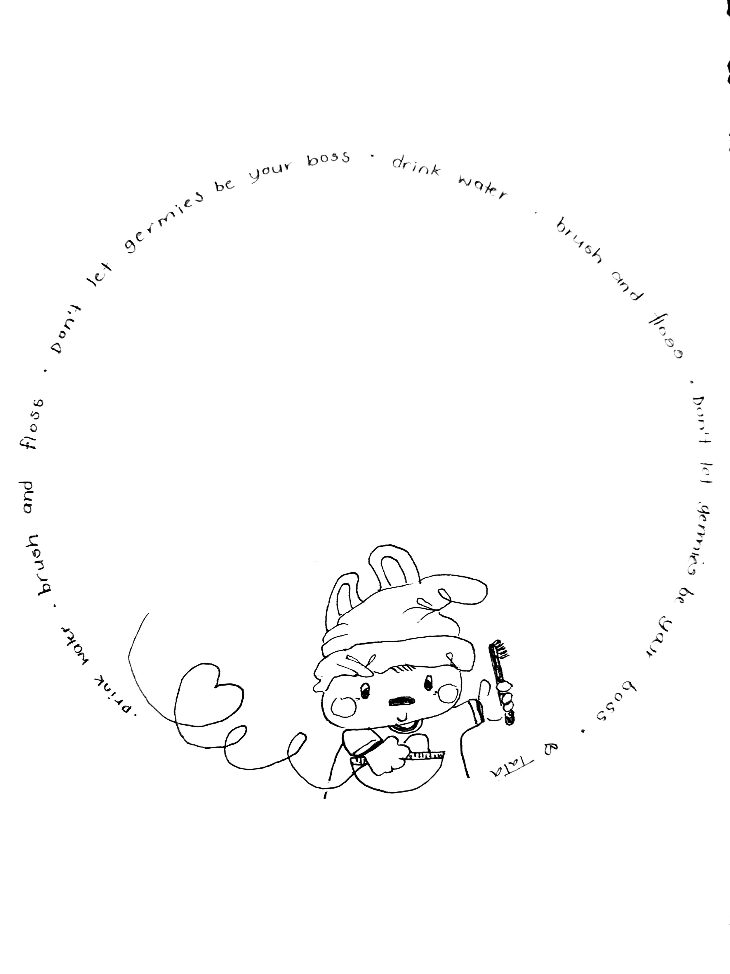 Draw a Picture: What is Tooth Bunny Thinking About?