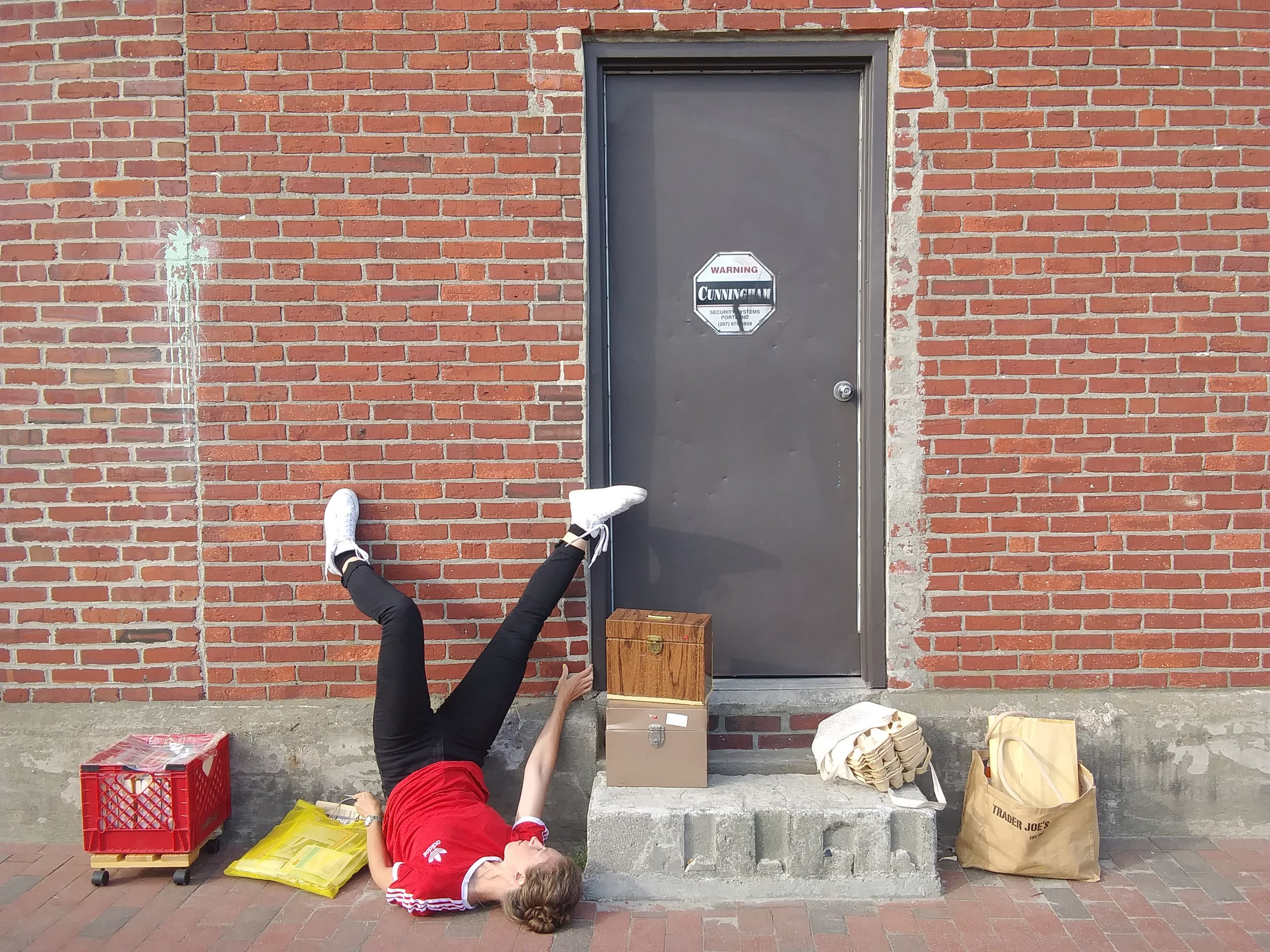 Moving Out - A participatory dance piece and another chapter in [Storage]. October 12. 2pm.Presented as part of Portland Dance Month.