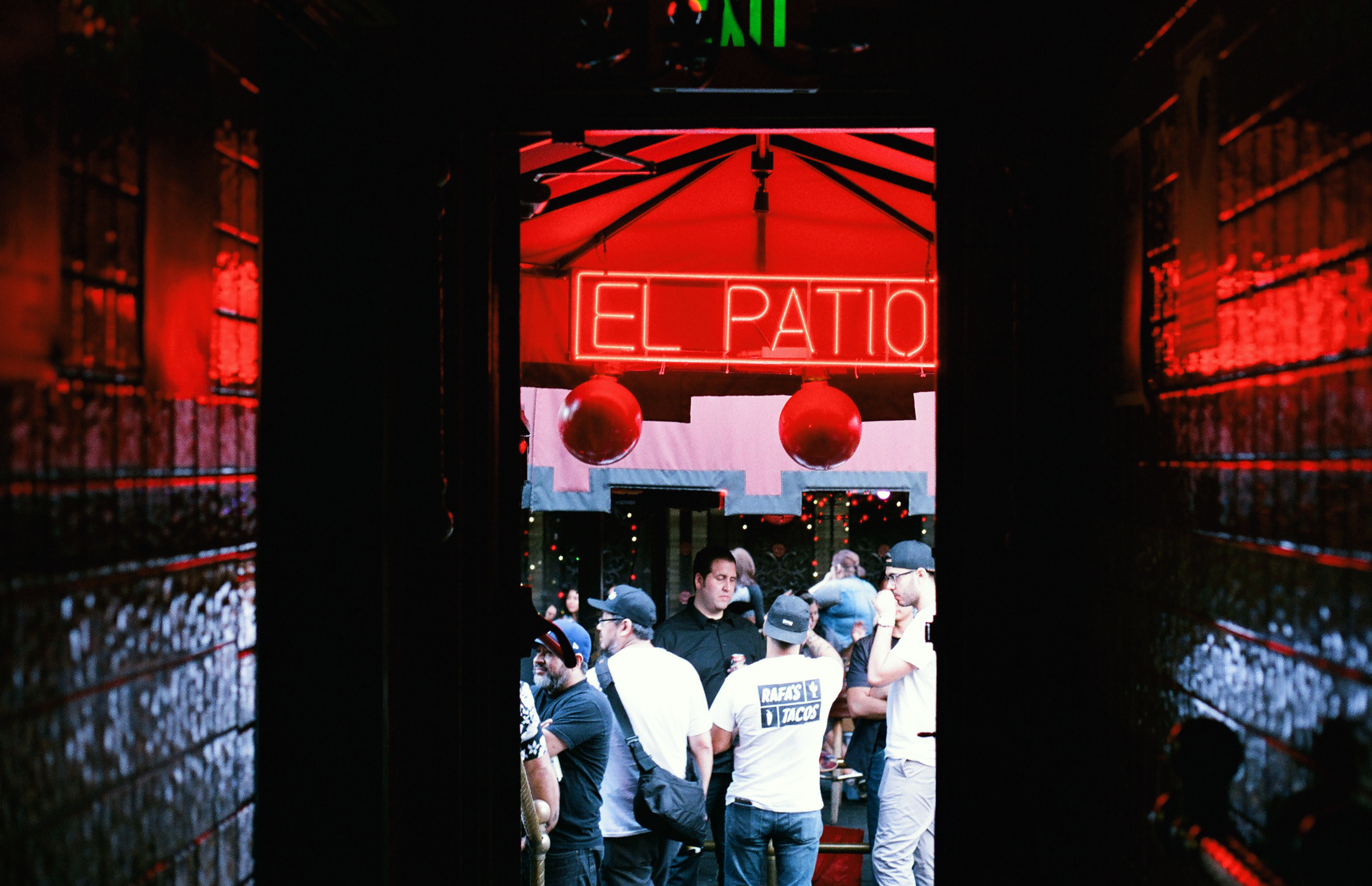 El Patio. Downtown LA. 35mm.