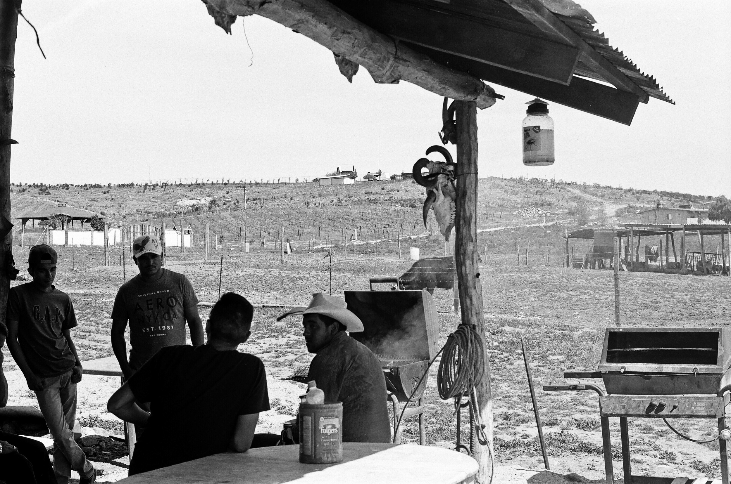 Cocina de Do ña Esthela. Valle de Guadalupe, Baja California, Mexico. 35mm.