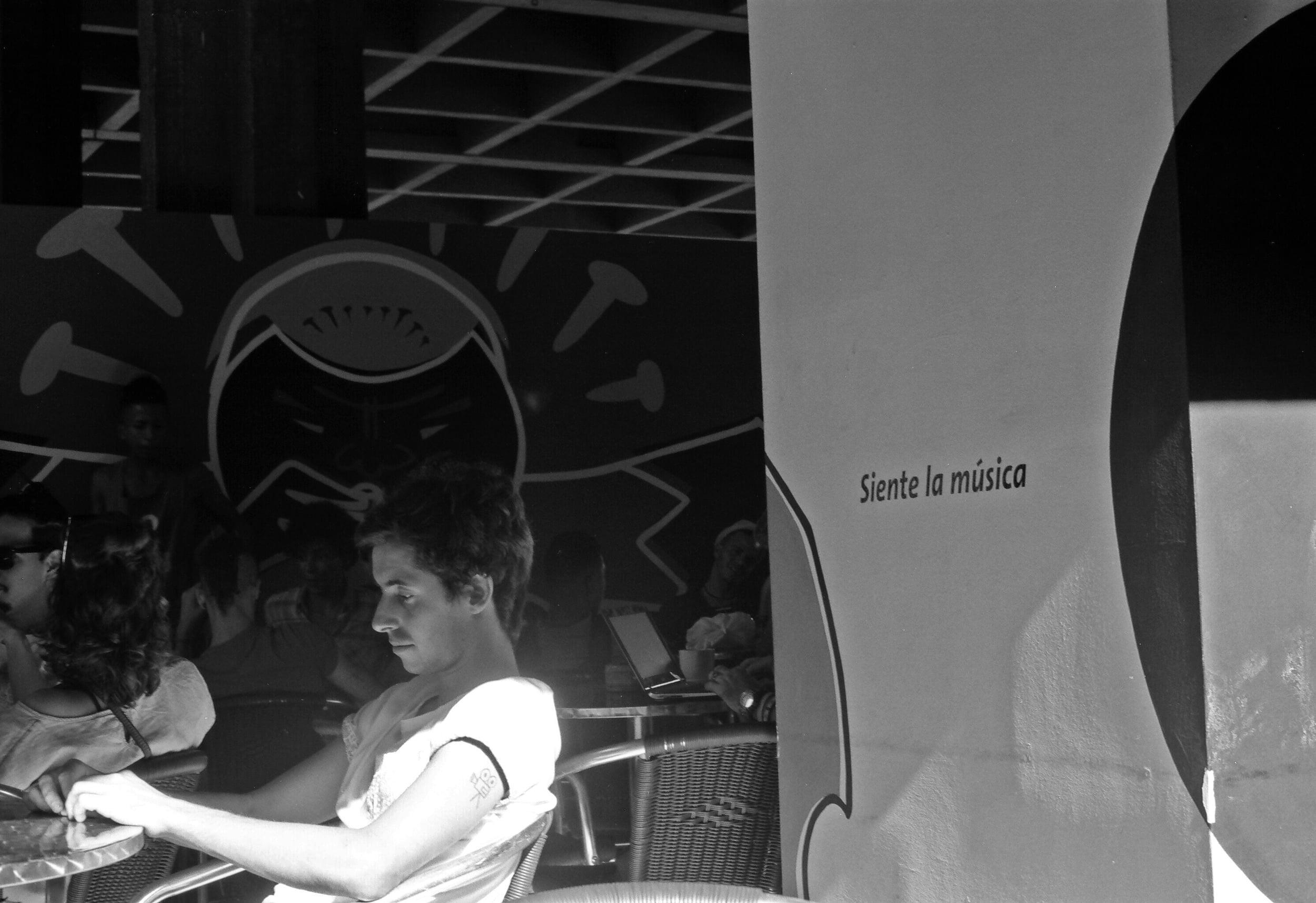 Cafe in Vedado
