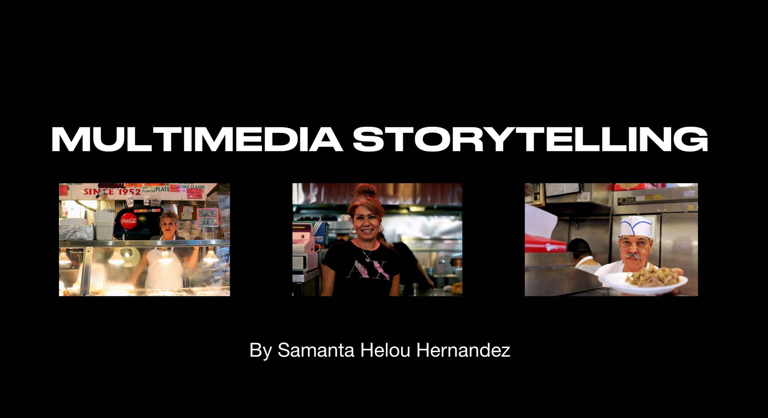 Taught a seminar on multimedia storytelling for UCR's MFA residency.