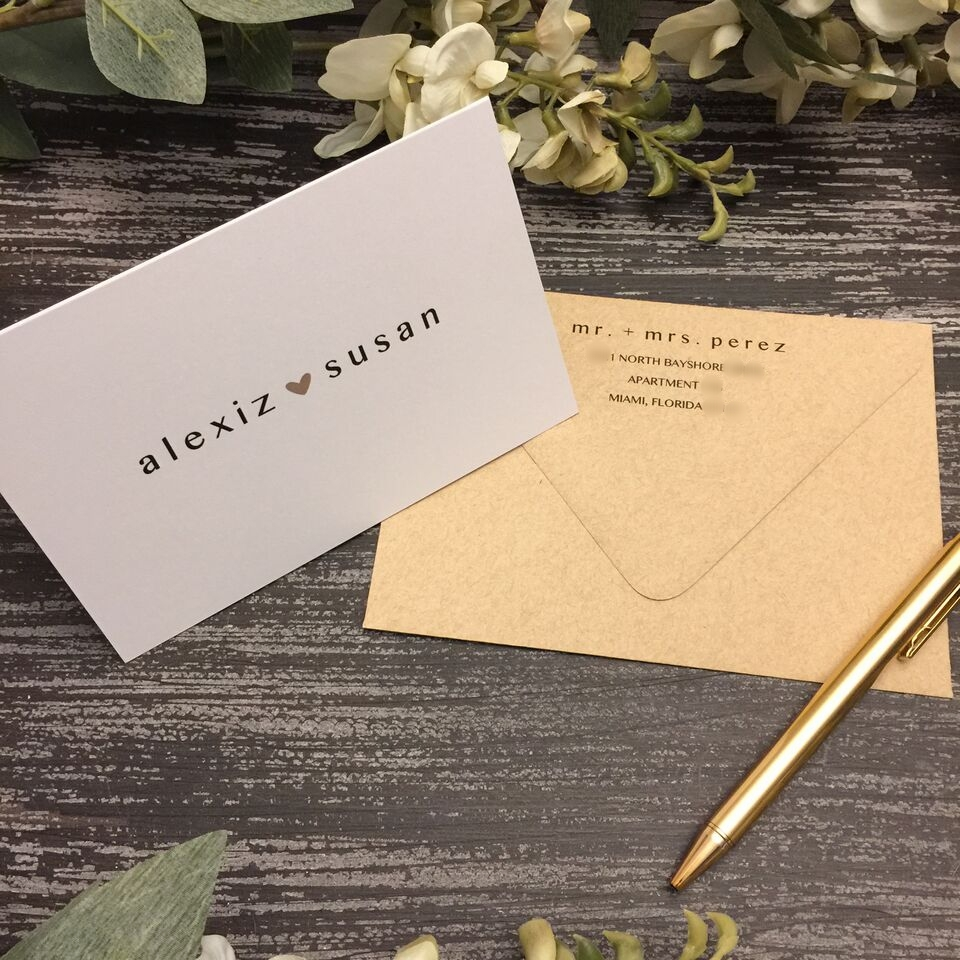 AFTER YOUR BIG DAY    THANK YOU CARDS