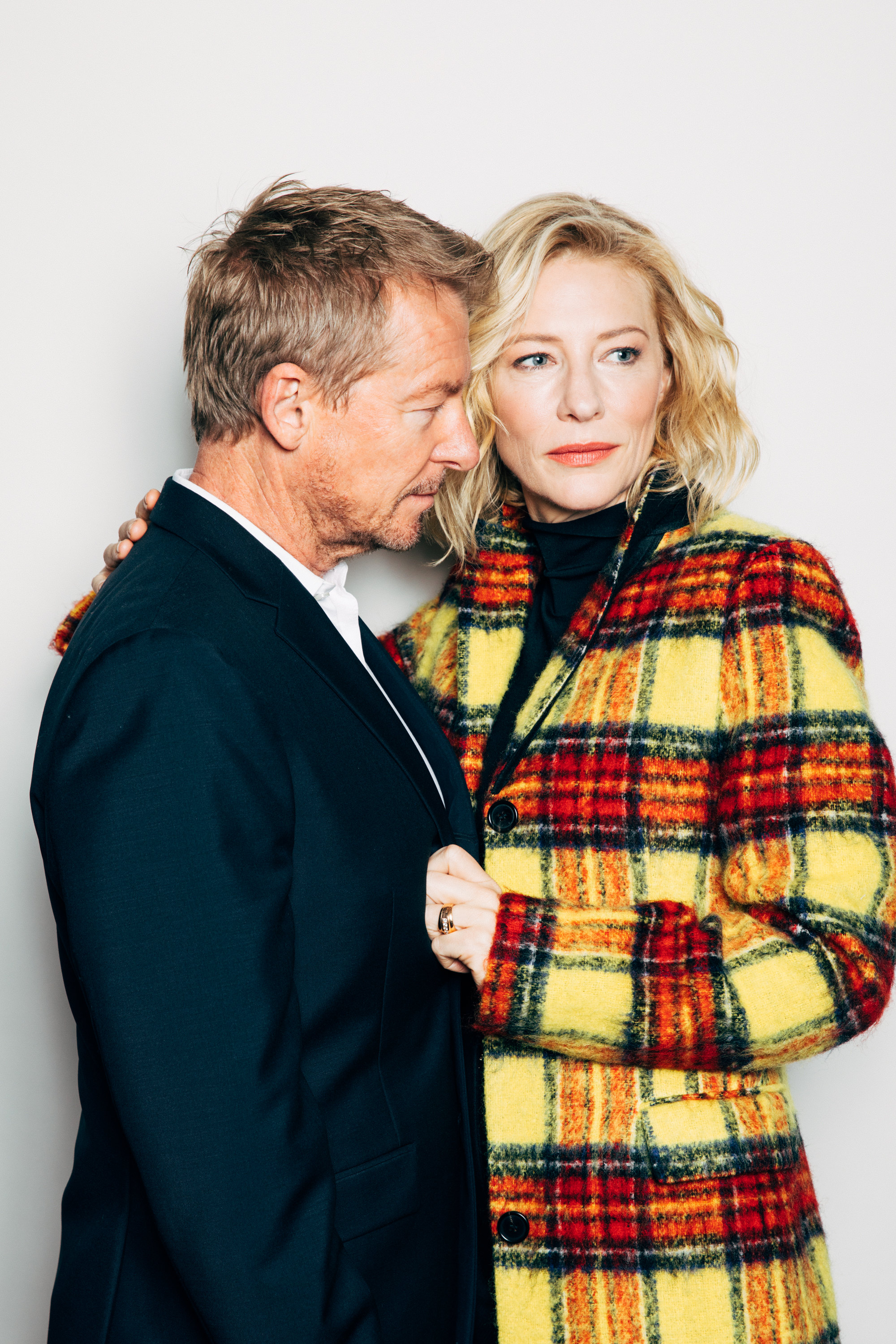 Richard Roxburgh and Cate Blanchett for The New York Times