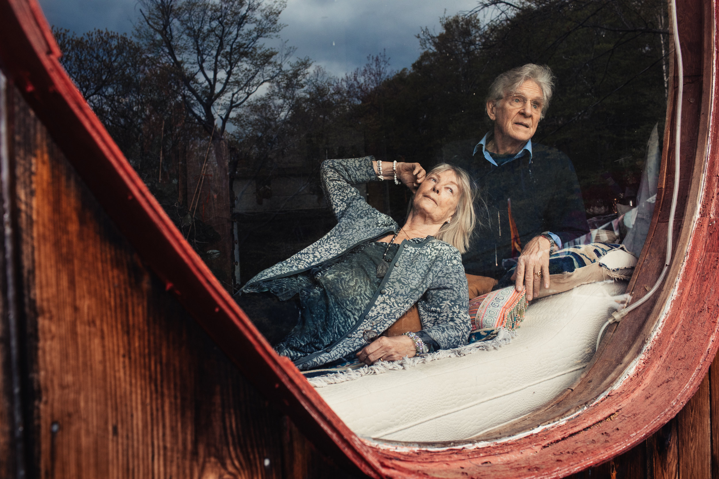 Nena and Robert Thurman for The New York Times