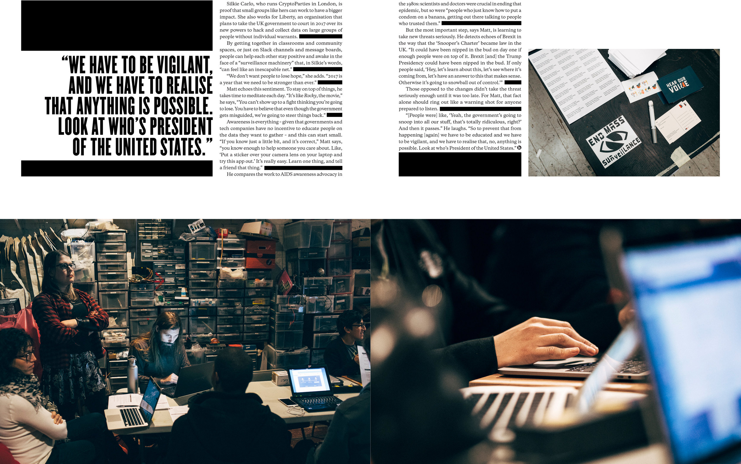 Cryptoparties for Huck Magazine