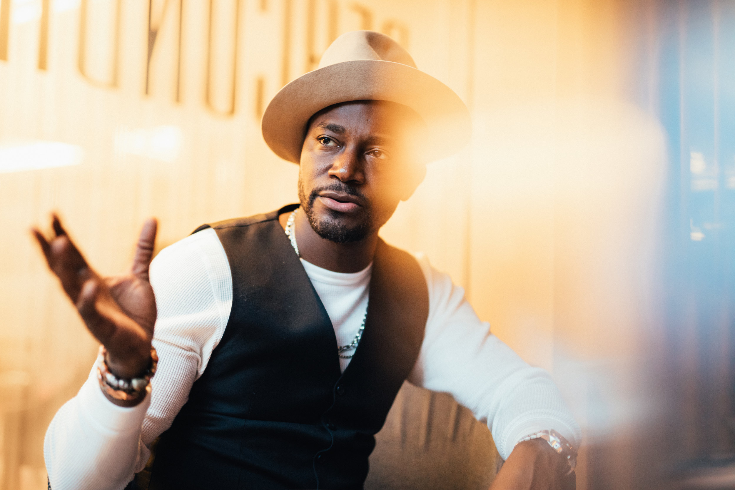 Taye Diggs for The New York Times