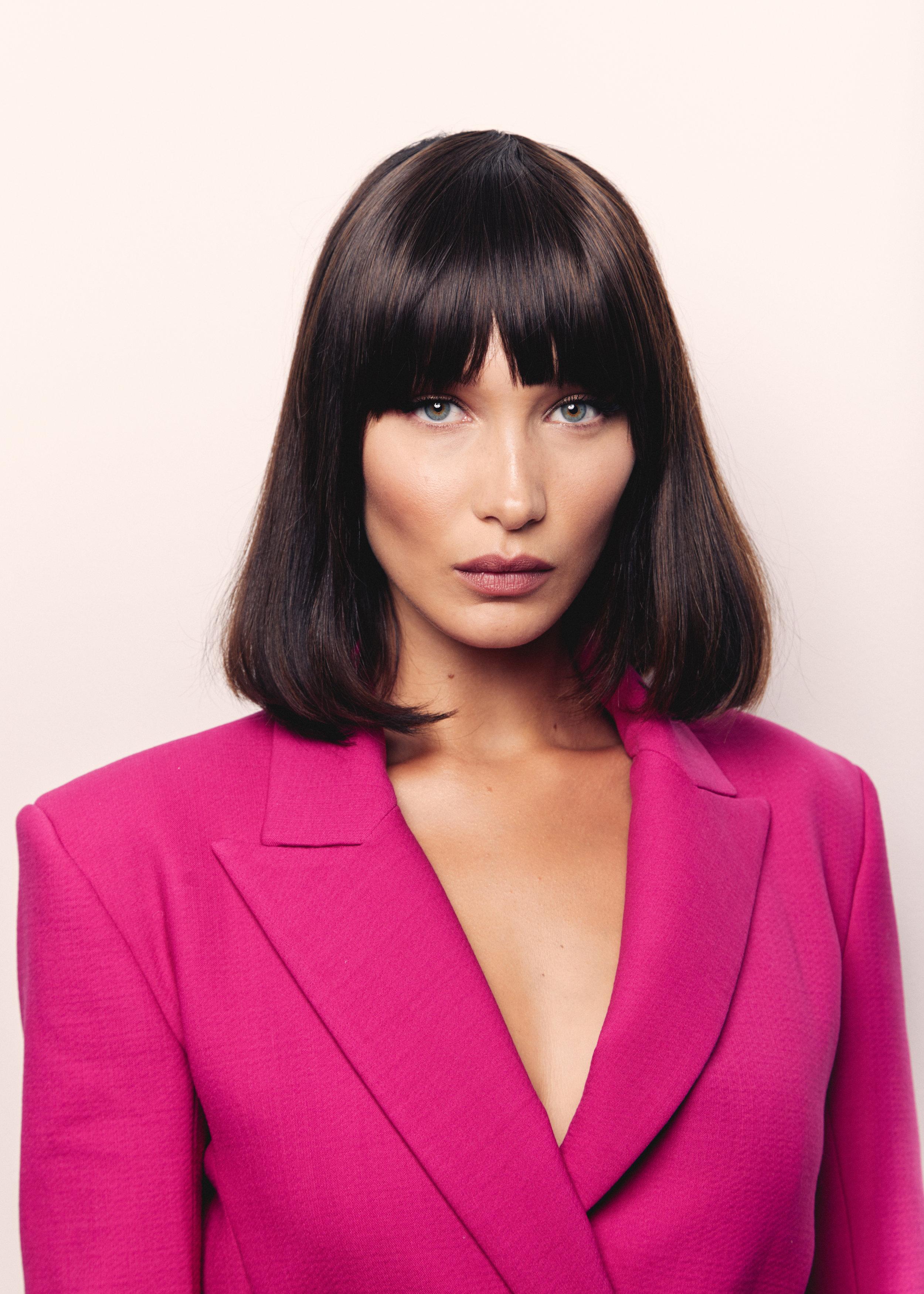 Bella Hadid for Vogue.com