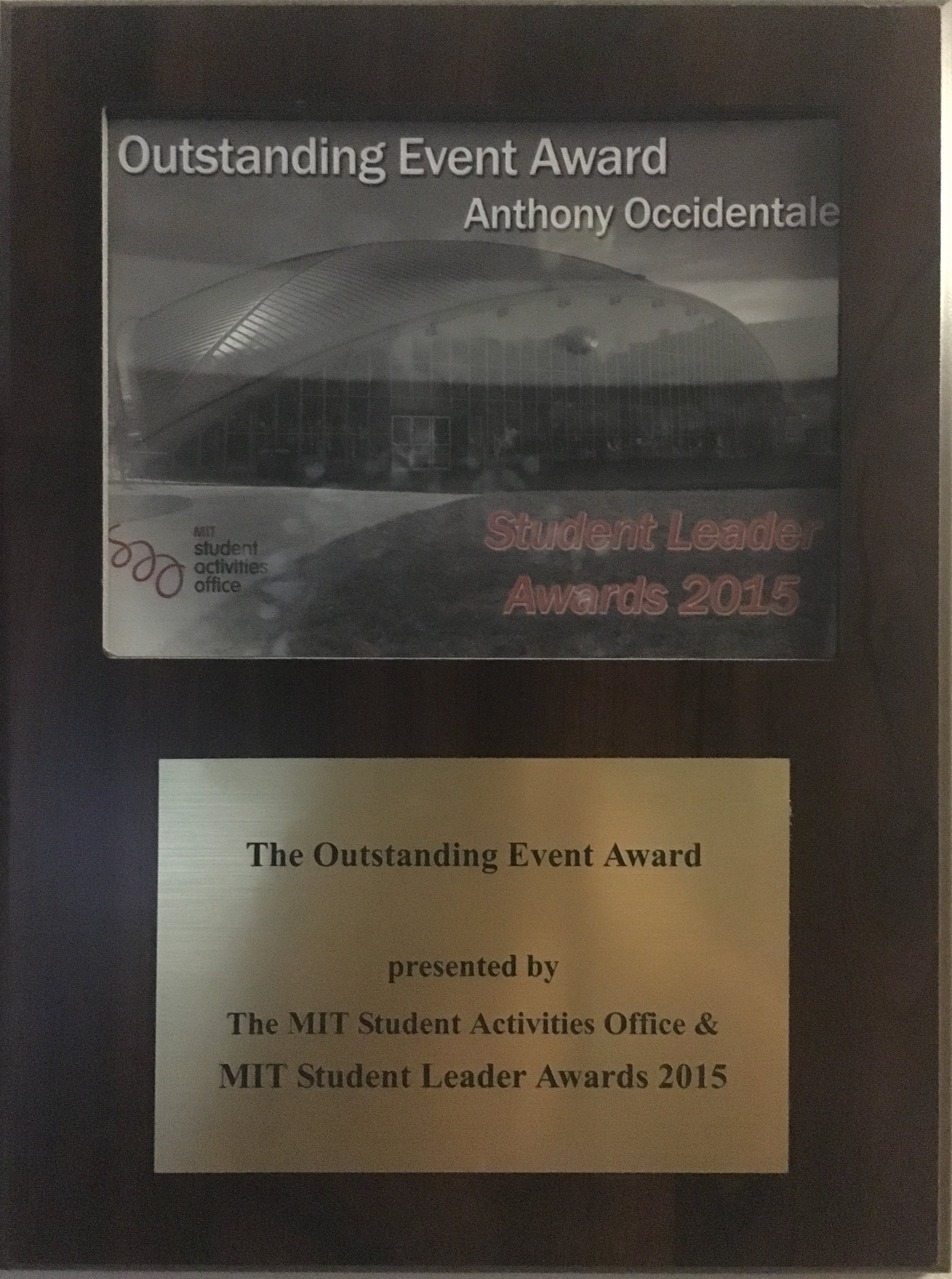 Outstanding Event Award