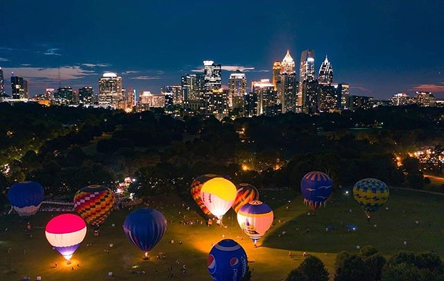 MEETUP is still happening TONIGHT at 6:30 PM at Piedmont Park to see the hot aire balloons. 🎈  If the weather doesn't look good, we will just move the group indoors nearby! 💥 RAIN OR SHINE!  Meeting point: 10th & Charles Allen entrance  Price: FREE!!!! Parking: Probably best to ride share or Marta there. Surrounding street parking will probably require a permit and will be packed/complicated. Use your best judgement!  Looks like we have a good turn around of a nice group of people coming so bring your cameras, phones, and best attitude because you're gonna meet some talented people tonight!! 🔥  DM @redromina if you have trouble finding the group!  #creators #createirl #meetups #atlmeetups #atlantayoutubers #youtubersinatl #discoveratl #atlantaga