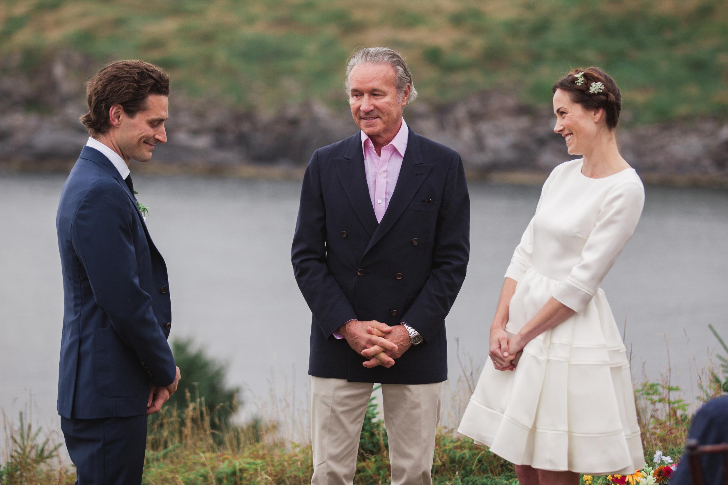 Island Wedding - Monhegan Island, Maine