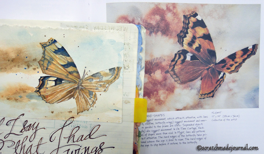 watercolor butterfly copy - scratchmadejournal.com