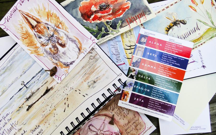 stillman and birn sketchbook paper review - scratchmadejournal.com