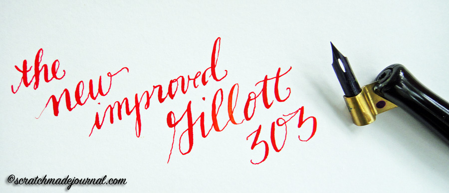 Review of the new Gillott 303 nib - scratchmadejournal.com
