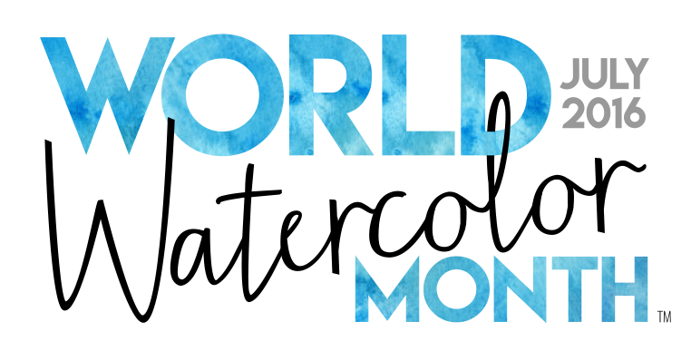 World Watercolor Month logo - used with permission
