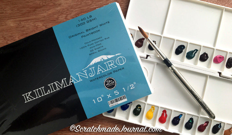 Complete review of American Journey watercolors PLUS a giveaway! - ScratchmadeJournal.com