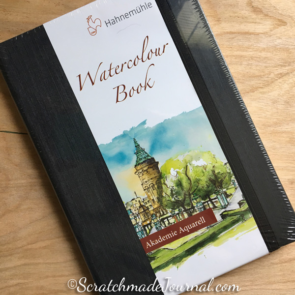 Hahnemuhle Watercolour Book review and giveaway at ScratchmadeJournal.com