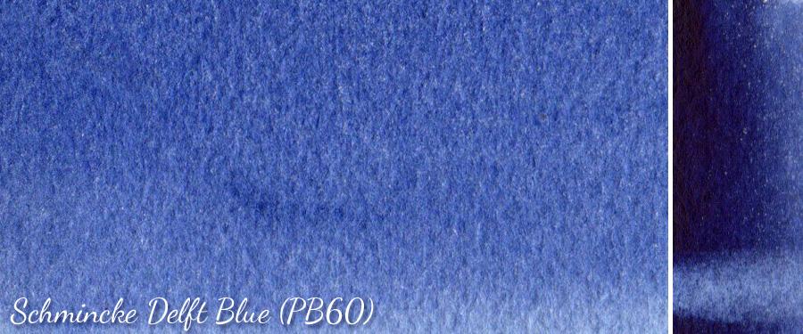 Schmincke Delft Blue PB60 - ScratchmadeJournal.com