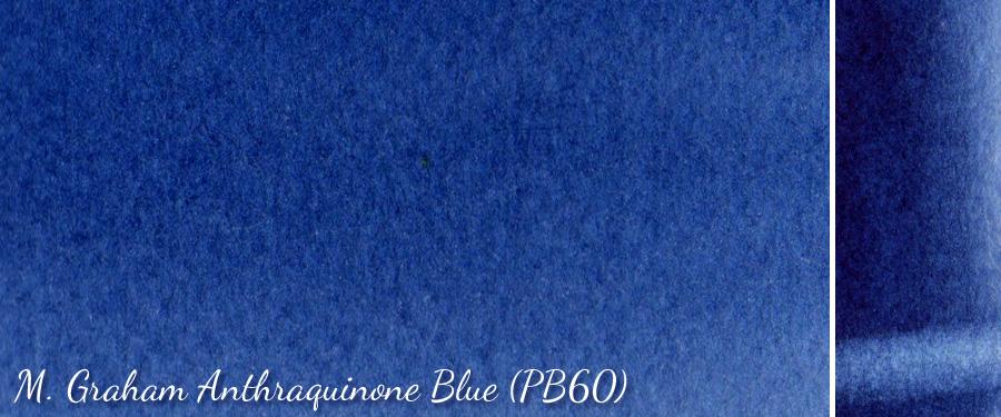 M Graham Anthraquinone Blue PB60 - ScratchmadeJournal.com