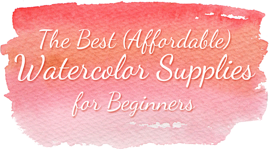 The best watercolor supplies for beginners - ScratchmadeJournal.com